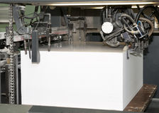 Press printing - Offset machine Stock Photography