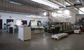 Press printing (printshop) - Offset. Offset press is a printing machine designed to produce fine quality reproductions. Offset printing is a widely used printing stock image