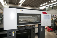 Press printing (printshop) - Offset Royalty Free Stock Photo