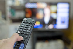 Press Remote control Royalty Free Stock Photography