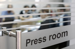 Press room Stock Photography