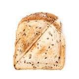 Press toasted sandwich isolated. Press toasted sandwich panini isolated over the white background stock photos