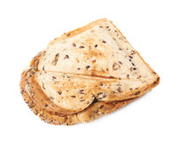 Press toasted sandwich isolated. Press toasted sandwich panini isolated over the white background stock images