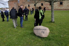 PRESS TOUR TO SONDBRBORG CASTLE TOWN VIEW Stock Photos