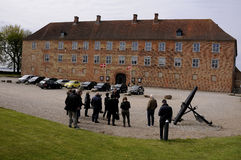 PRESS TOUR TO SONDBRBORG CASTLE TOWN VIEW Royalty Free Stock Image