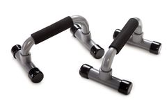 Press up exercise equipment. Health lifestyle press up sport exercise equipment stock images