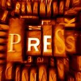 Pressa Fotografia Stock