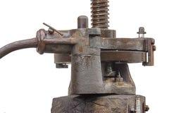 Presse à vis mécanique lourde Image libre de droits