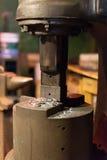 Presse électrique industrielle Photographie stock libre de droits