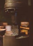 Presse électrique industrielle Photo libre de droits