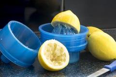 Presse-fruits de citron photo libre de droits