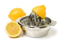 Presse-fruits frais de citron photos stock