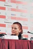 Presse-Konferenz von (siebenunddreißig) Film 37 Lizenzfreie Stockfotografie