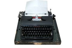 Presse typographique Photo stock