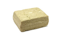 Pressed briquette halva Stock Photos