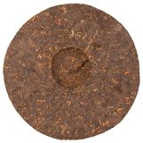 Pressed Chinese puer tea Stock Image
