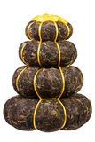 Pressed Chinese puer tea Royalty Free Stock Photo