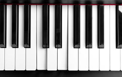 The pressed chord on piano keys Royalty Free Stock Photography