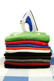 Pressed clothes Stock Photography