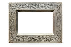Pressed Metal Picture Frame Isolated Royalty Free Stock Photography