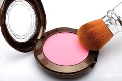 Pressed powder Stock Image