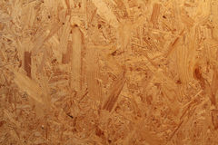 Pressed tiles from waste wood Stock Photo
