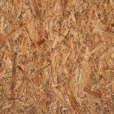 Pressed wood shavings fragment Royalty Free Stock Images