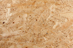 Pressed wooden panel Stock Image