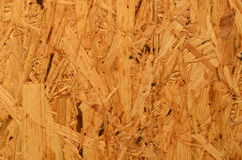 Pressed Wooden Panel (OSB) For Building. Seamless Tileable Texture Stock Photography