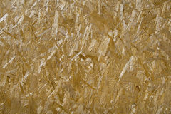 Pressed Wooden Panel - OSB Royalty Free Stock Photography