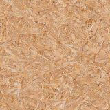 Pressed Wooden Panel (OSB). Seamless Texture. Stock Photo