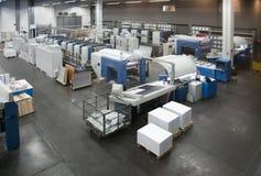 Pressedrucken - Offsetmaschine lizenzfreie stockfotos