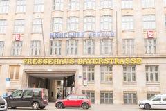 Pressehaus Bayerstrasse Obraz Stock