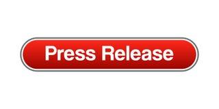 Pressemitteilungsentriegelung stock abbildung