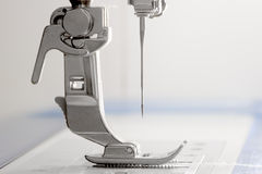 Presser foot. Of a sewing machine Royalty Free Stock Image