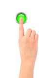 Pressing buttons Royalty Free Stock Photo