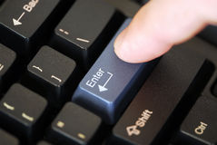 Free Pressing Enter Key Stock Photo - 1960020