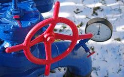 pression de gaz Photos stock