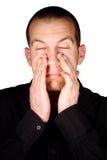 Pression de sinus images stock