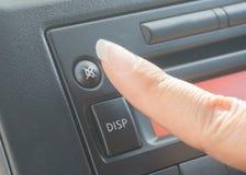 Pressione o botão do silêncio Imagens de Stock Royalty Free