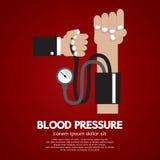 Pressione sanguigna Immagini Stock Libere da Diritti
