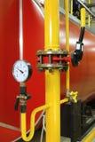 Pressão do manómetro Fotografia de Stock