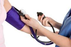 Pressão sanguínea Fotografia de Stock Royalty Free