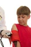 Pressão sanguínea Fotografia de Stock