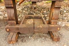 Pressoir en bois Photos stock