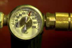 Pressure. Gauge Royalty Free Stock Image