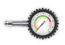 Pressure for car wheels Stock Photos