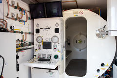 Pressure chamber Royalty Free Stock Photo