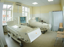 Pressure chamber in hospital royalty free stock photo