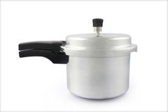 Pressure cooker. Isolated on Background Stock Photo